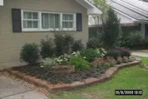 Bayside Landscape Services - Natural Rock Borders - Houston, Texas