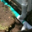 4 Inch Gutter Downspout and Subsurface Drain